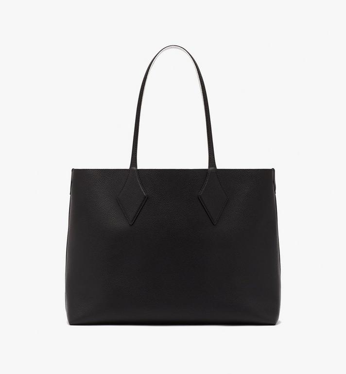 MCM Reversible Shopper in Tani Leather Black MWPASXS01BK001 Alternate View 5