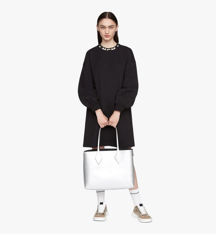 MCM Reversible Shopper in Tani Leather Black MWPASXS01BK001 Alternate View 8