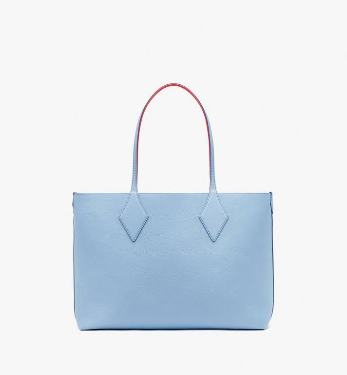 MCM กระเป๋าช็อปเปอร์ใช้ได้สองด้าน Tani ทำจากหนัง Blue MWPASXS01H2001 Alternate View 5