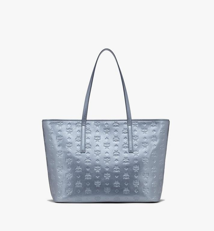 MCM Anya Shopper in Monogram Metallic Leather Alternate View