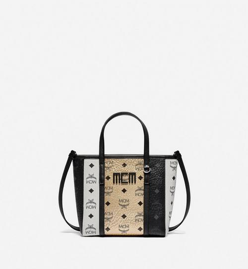 Visetos 混合皮革 Toni 購物袋