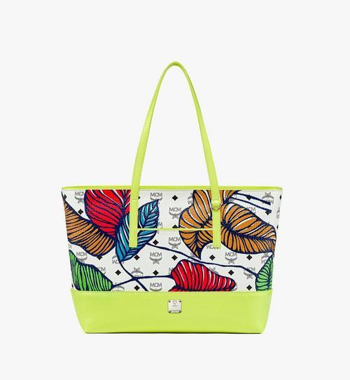 夏威夷 Upcycling Project Visetos 混合皮革購物袋