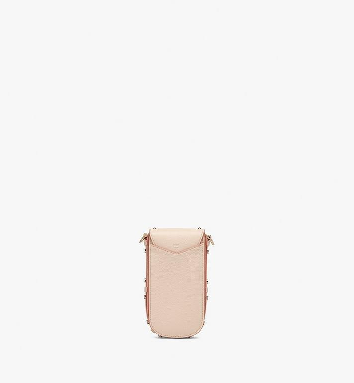 MCM Patricia Crossbody in Studded Park Ave Leather Beige MWR0SPA01IH001 Alternate View 3