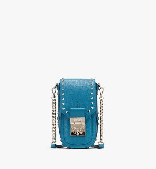 Patricia Park Avenue 鉚釘皮革斜背包