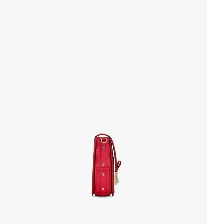 MCM 拼色皮革系列的 Patricia 斜揹包 Red MWR0SPA03R4001 Alternate View 2
