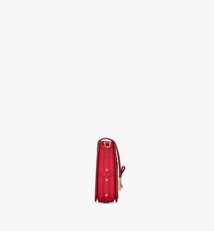 MCM Patricia Crossbody in Color Block Leather Red MWR0SPA03R4001 Alternate View 2