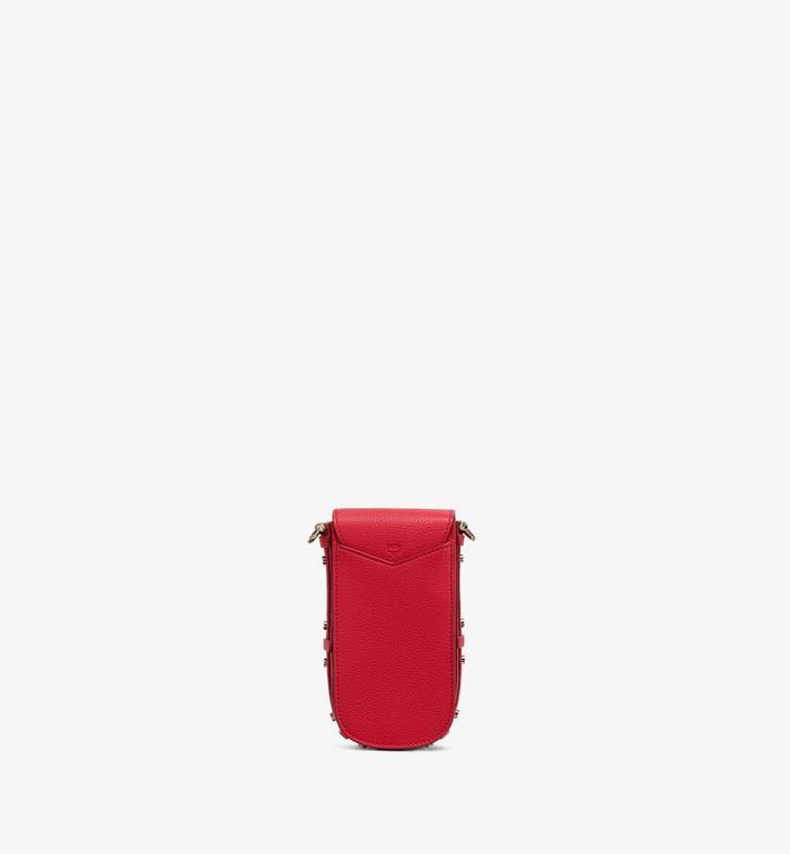 MCM 拼色皮革系列的 Patricia 斜揹包 Red MWR0SPA03R4001 Alternate View 3