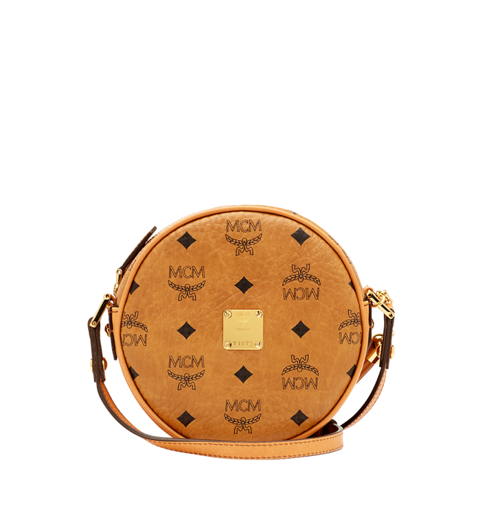 MCM Heritage Tamburin-Tasche in Visetos Alternate View