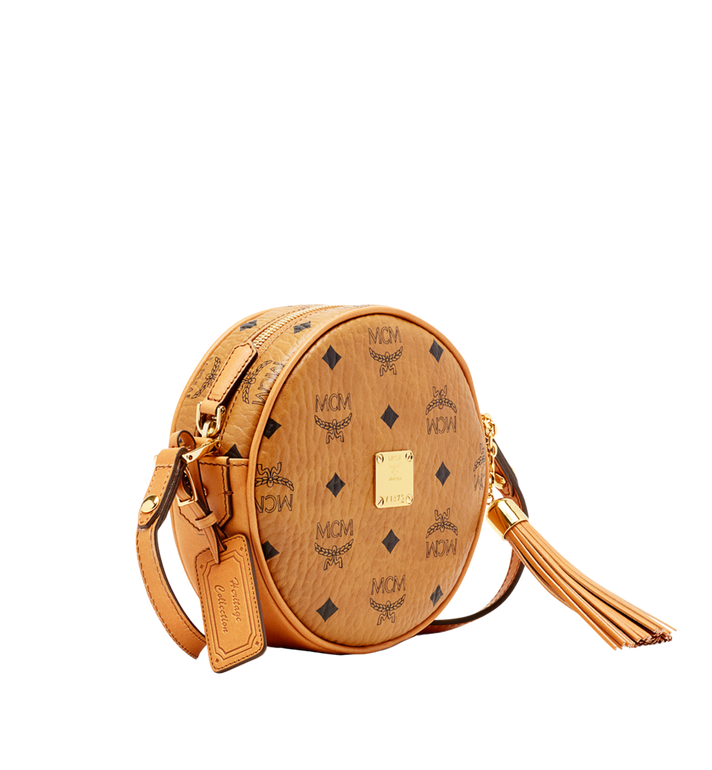 MCM Heritage Tamburin-Tasche in Visetos Alternate View 2