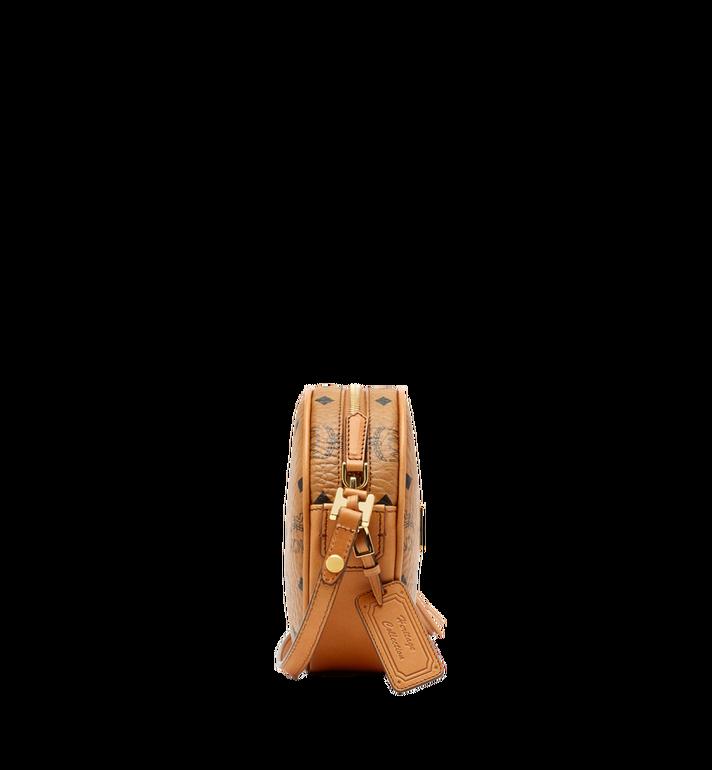 MCM Heritage Tamburin-Tasche in Visetos Cognac MWR6AVI36CO001 Alternate View 3