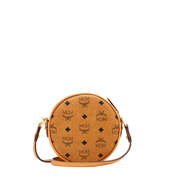 MCM Heritage Tamburin-Tasche in Visetos Alternate View 4