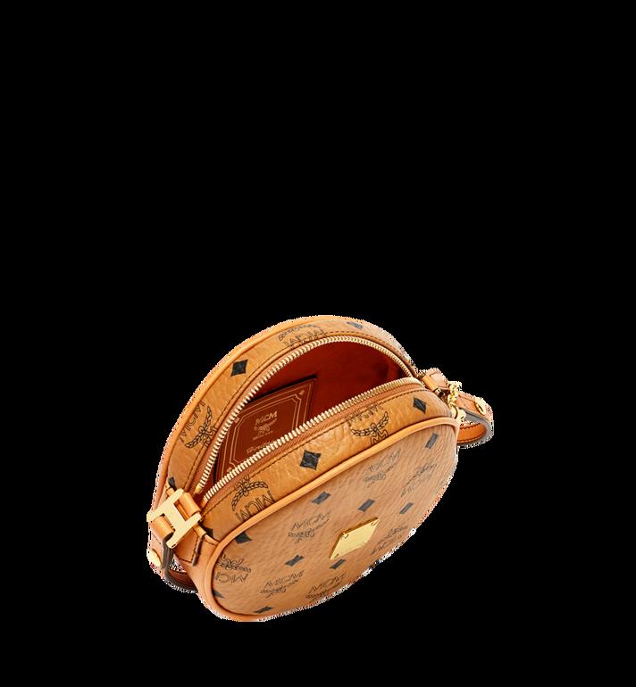 MCM Sac tambourin Heritage en Visetos Cognac MWR6AVI36CO001 Alternate View 5