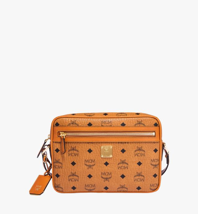 Camera Crossbody-Tasche in Visetos