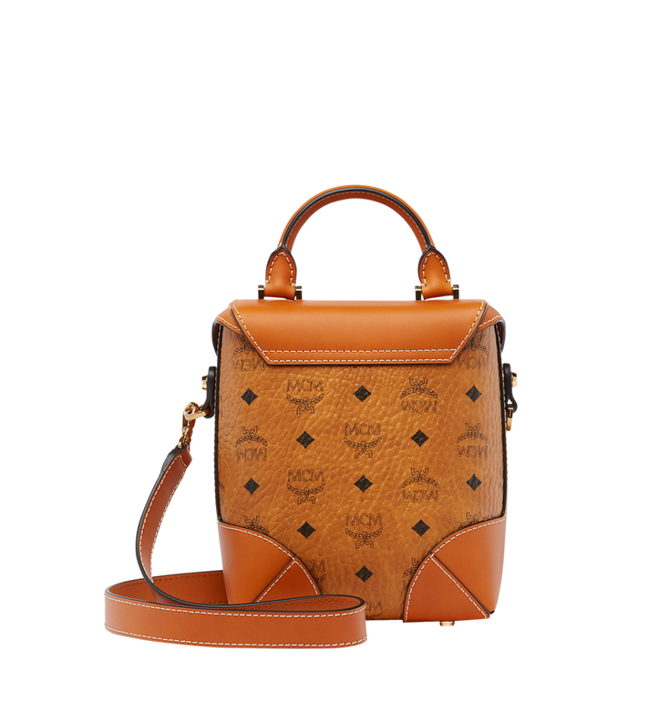 MCM Weiche Berlin North South Crossbody-Tasche in Visetos  MWR8ABF11CO001 Alternate View 4