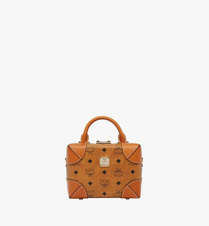 MCM Soft Berlin Visetos 斜背包 Cognac MWR8ABF12CO001 Alternate View 1