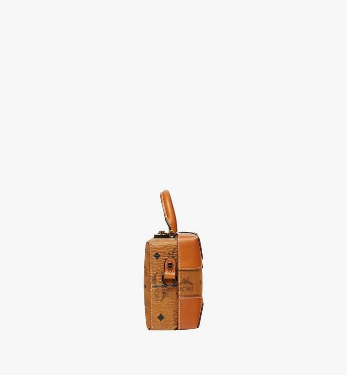 MCM Soft Berlin Visetos 斜背包 Cognac MWR8ABF12CO001 Alternate View 3