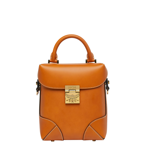 Soft Berlin Crossbody in Vachetta Leather
