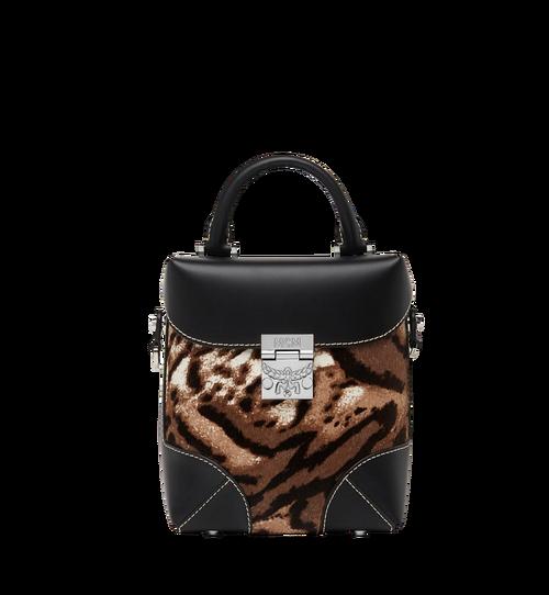 Soft Berlin NS Crossbody in Leopard Haircalf