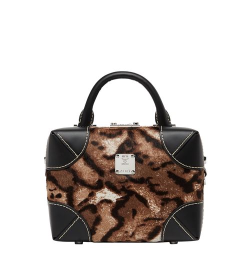 Soft Berlin Crossbody in Leopard Haircalf