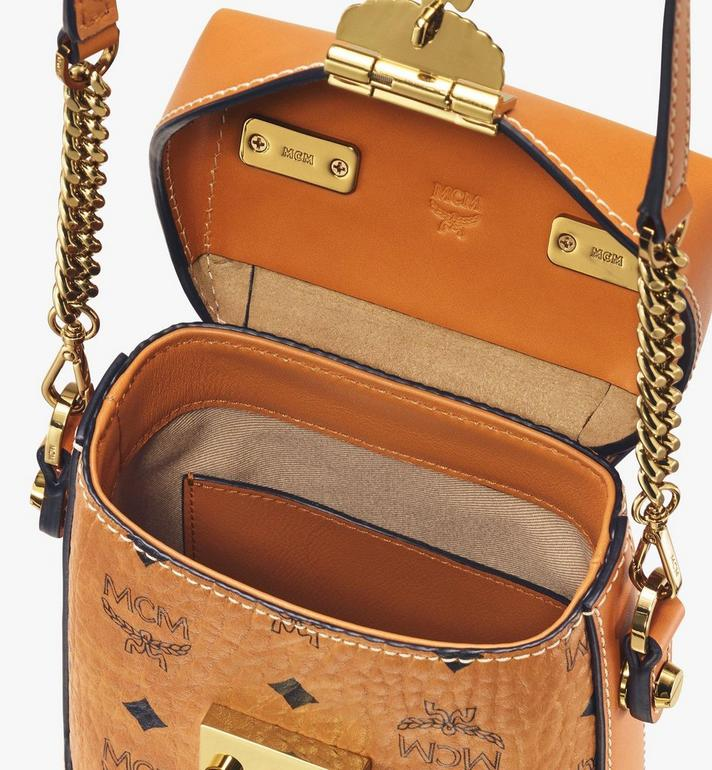 MCM Soft Berlin Crossbody in Visetos Cognac MWR9ABF14CO001 Alternate View 4