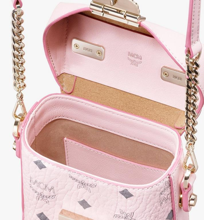 MCM Soft Berlin NS Crossbody Bag in Visetos Pink MWR9ABF14QH001 Alternate View 4