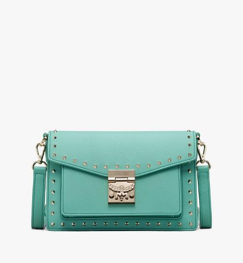 Patricia Crossbody in Studded Park Avenue Leather