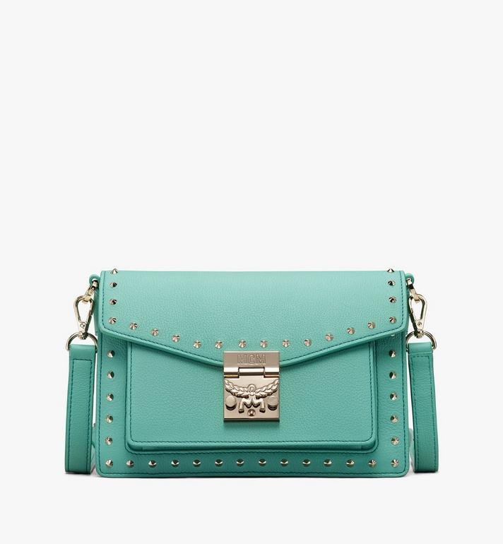 MCM Patricia Crossbody in Studded Park Avenue Leather Alternate View