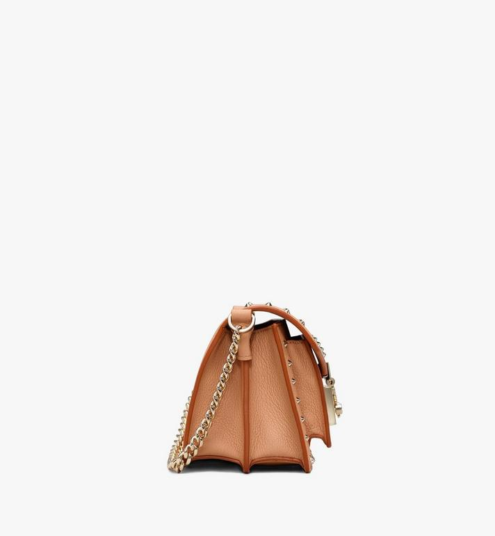 MCM Patricia Crossbody in Studded Park Avenue Leather Beige MWR9APA13BC001 Alternate View 2