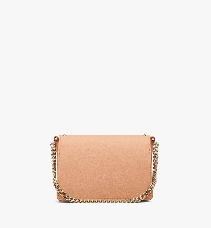 MCM Patricia Crossbody in Studded Park Avenue Leather Beige MWR9APA13BC001 Alternate View 3