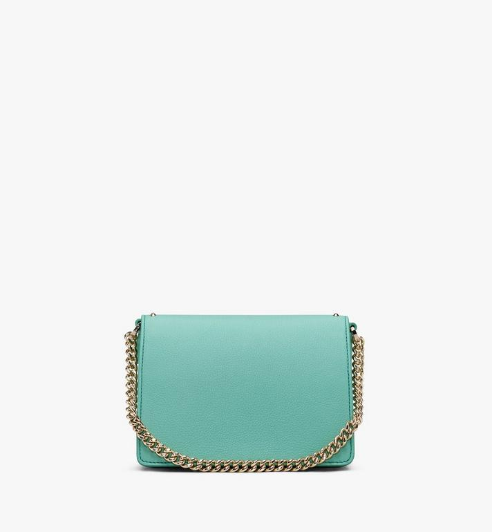 MCM Patricia Crossbody in Studded Park Avenue Leather Green MWR9APA13G7001 Alternate View 3