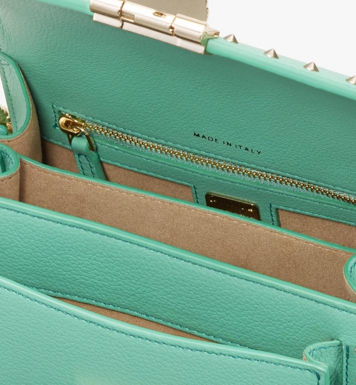MCM Patricia Crossbody in Studded Park Avenue Leather Green MWR9APA13G7001 Alternate View 4
