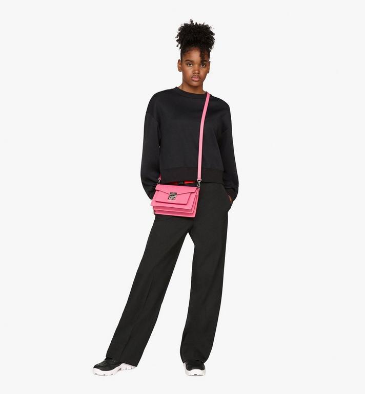 MCM Patricia Crossbody-Tasche aus Leder in Park Avenue  MWR9APA16QS001 Alternate View 7