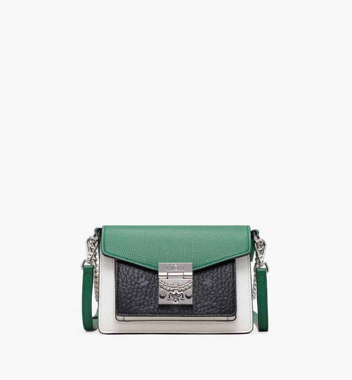 MCM Patricia Crossbody in Color Block Leather Alternate View
