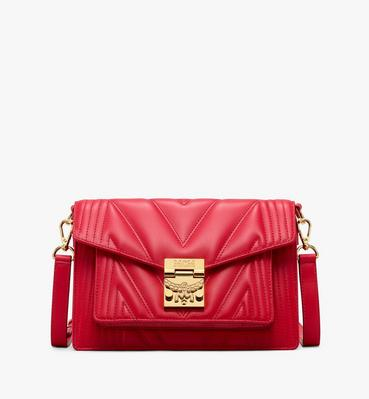 Patricia Crossbody Bag in Quilted Leather