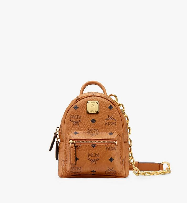 MCM Essential Mini Crossbody in Visetos Alternate View