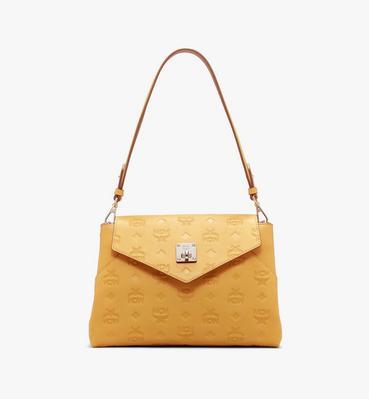 กระเป๋าสะพายครอสบอดี้ Essential ทำจากหนังพิมพ์ลายโมโนแกรม