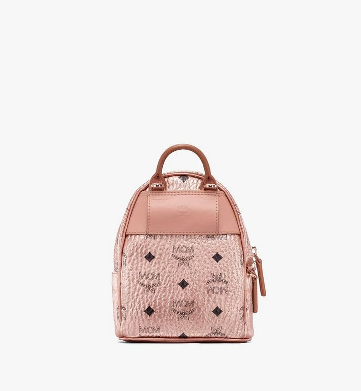 MCM Essential Mini Crossbody Backpack in Visetos  MWR9ASE78TC001 Alternate View 3