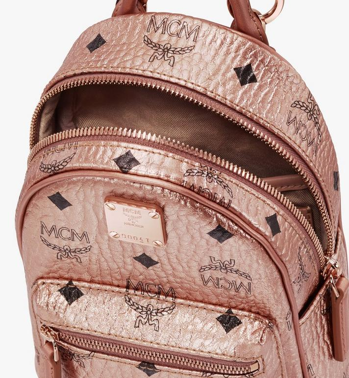 MCM Essential Mini Crossbody Backpack in Visetos  MWR9ASE78TC001 Alternate View 4