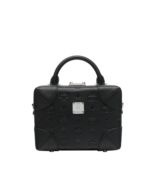 Weiche Berlin Crossbody-Tasche aus Leder mit Monogramm