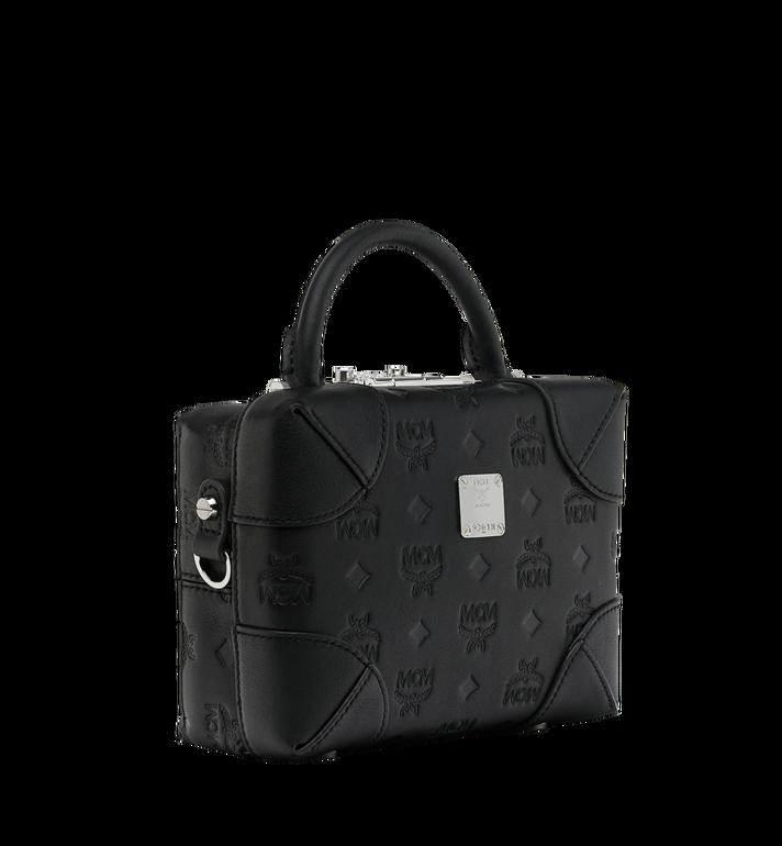 MCM Weiche Berlin Crossbody-Tasche aus Leder mit Monogramm Black MWR9SBF25BK001 Alternate View 2