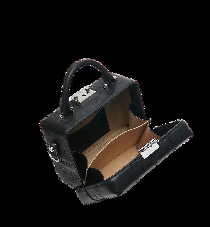 MCM Weiche Berlin Crossbody-Tasche aus Leder mit Monogramm Black MWR9SBF25BK001 Alternate View 5