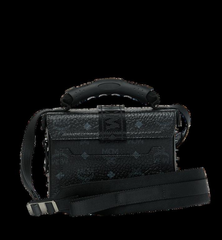 MCM Jemison Crossbody-Tasche in Visetos Black MWR9SJV23BK001 Alternate View 4