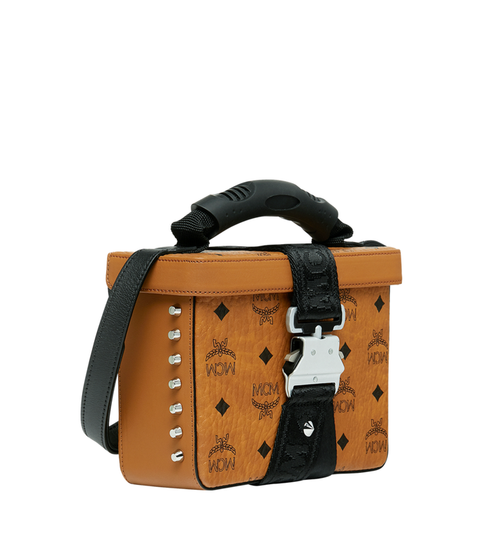 MCM Jemison Crossbody in Visetos Alternate View 2
