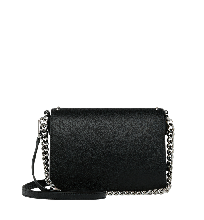 MCM Patricia Crossbody in Studded Outline Leather Black MWR9SPA13BK001 Alternate View 4