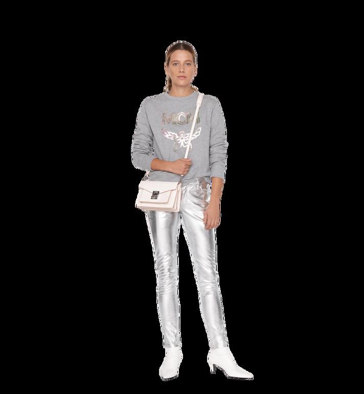 MCM Patricia Crossbody-Tasche aus gemasertem Leder Alternate View 6