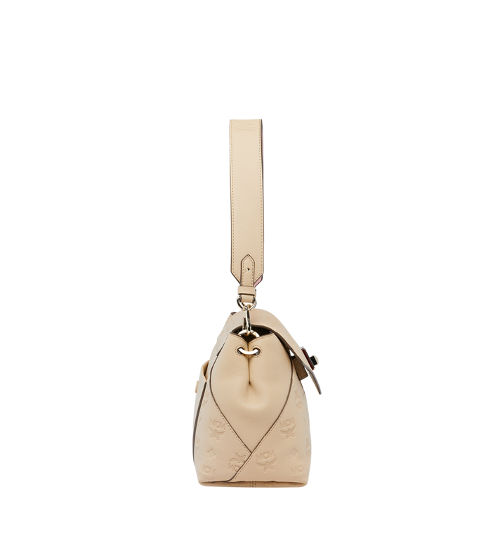 MCM Essential Crossbody-Tasche aus Leder mit Monogramm Alternate View 3