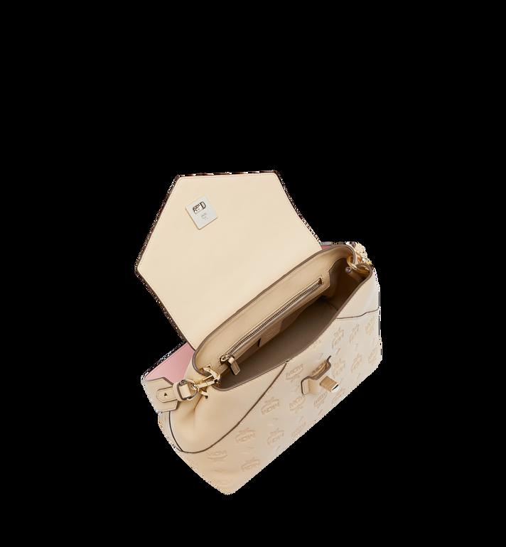 MCM Essential Crossbody-Tasche aus Leder mit Monogramm Alternate View 5