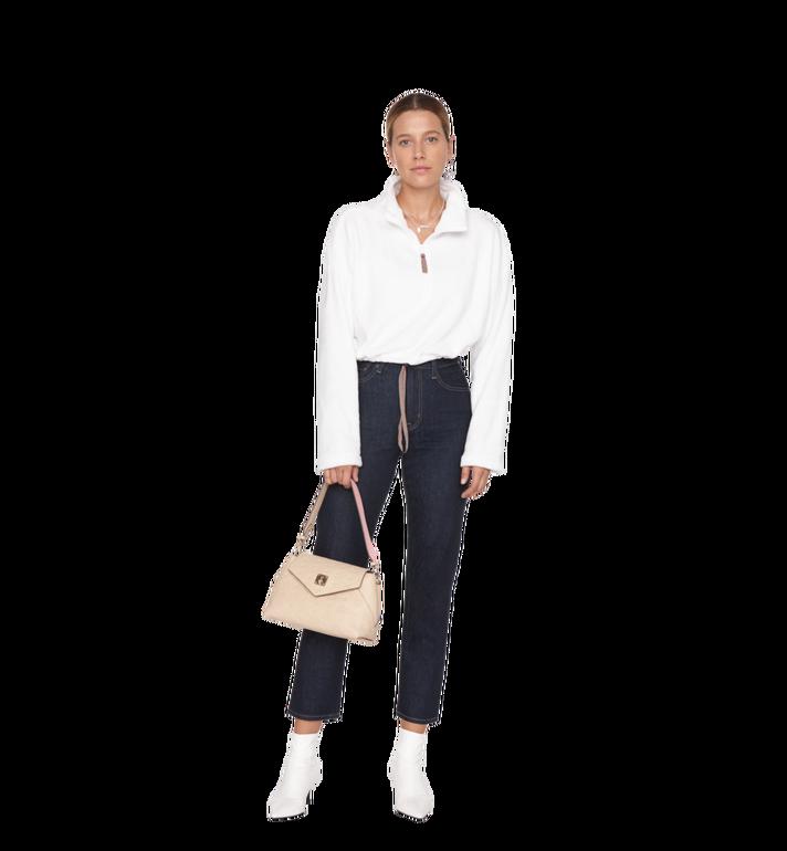 MCM Essential Crossbody-Tasche aus Leder mit Monogramm Alternate View 7