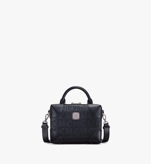 กระเป๋าครอสบอดี้ Soft Berlin วัสดุหนังลายโมโนแกรม MCM