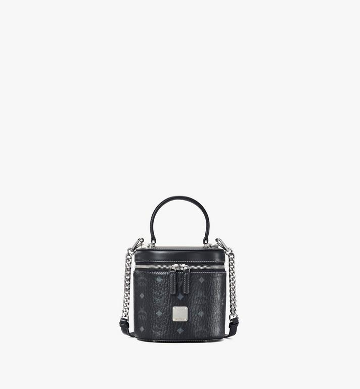 MCM Cylinder Crossbody in Visetos Alternate View